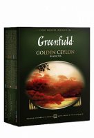 Чай Greenfield Golden Ceylon черный, 2*100