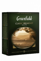 Чай Greenfield Classic Breakfast черный, 2*100