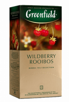 Чай Greenfield Wildberry Rooibos травяной, 1,5 *25