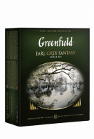 Чай Greenfield Earl Grey Fantasy черный, 2*100