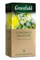 Чай Greenfield Camomile Meadow с ромашкой, 1,5 *25